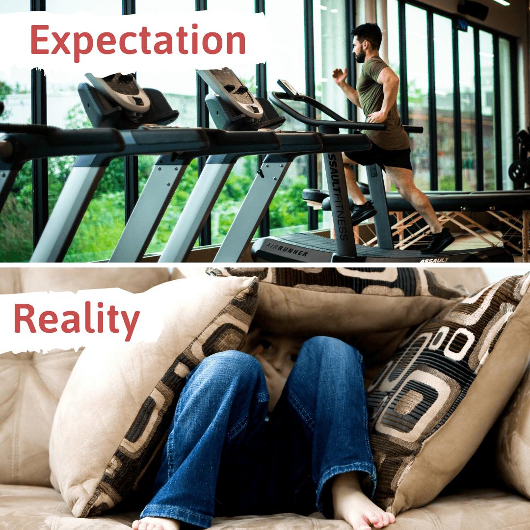 gym vs studying
