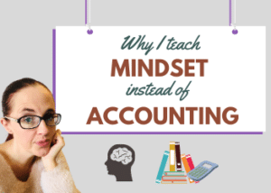 Mindset instead of accounting